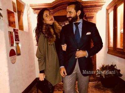 Saif-Bebo anniversary: Candid pics of couple