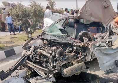 Guntur road accident: New year revelry turns tragic