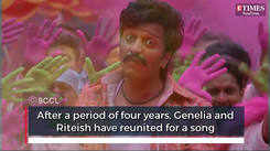 Riteish and Genelia reunite onscreen after 4 years