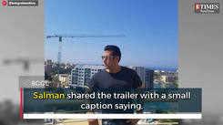 Salman Khan launches the trailer of Mauli