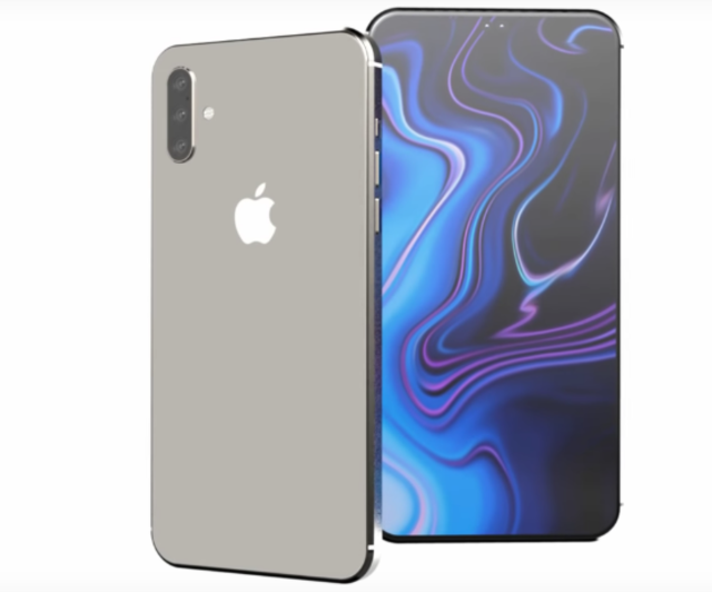 This is how the 2019 Apple iPhone with triple-lens 3D camera may look like