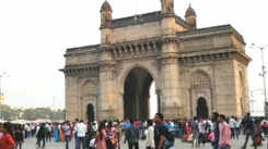 Revellers head to Gateway of India to welcome the New Year