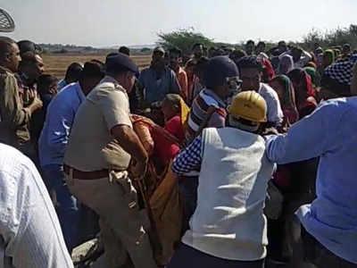 Farmers oppose limestone mining in Gujarat