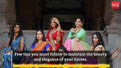 Best tips to maintain your expensive sarees