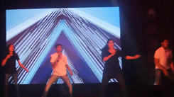 Students rocked the stage with their scintillating dance performance