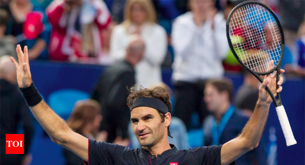 Federer Takes Switzerland To The Final Of The Hopman Cup Tennis
