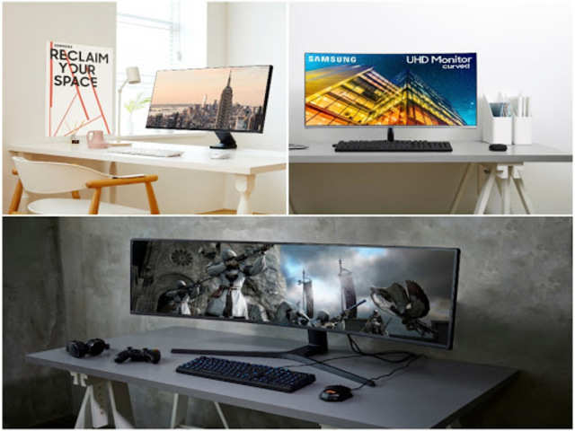 These Samsung monitors are designed for saving space, gaming and content creation