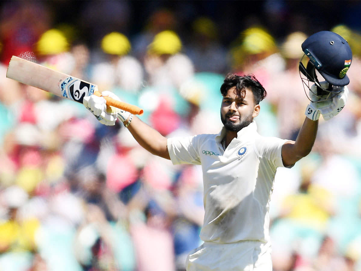 Rishabh Pant becomes first Indian wicketkeeper to score Test century in  Australia | Cricket News - Times of India