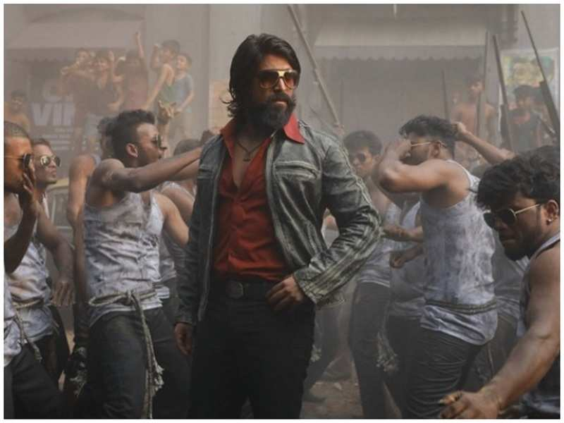 Kgf Chapter 2 Completes 15 Of Shooting Kannada Movie News Times Of India