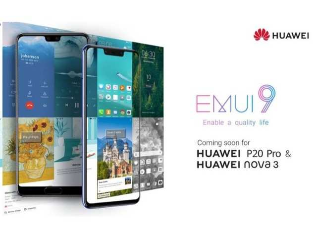 Huawei Nova 3 and Huawei P20 Pro to receive EMUI 9 update soon in India