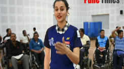 Tapsee Pannu recently visited army rehabilitation center in Pune