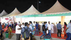 Coimbatoreans thronged eat street