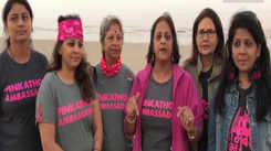 'Blindfold run' at Juhu beach for a cause