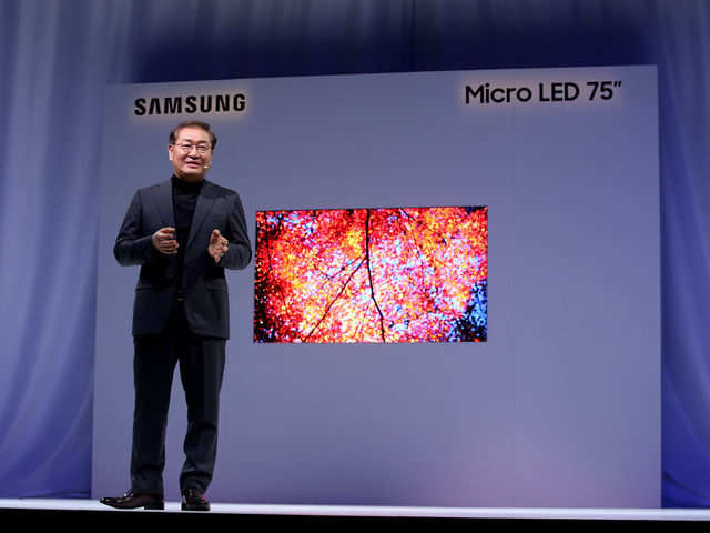 20b7b84b4c5 CES 2019  Samsung launches  modular  MicroLED