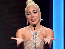 Lady Gaga gets emotional on winning Golden Globe