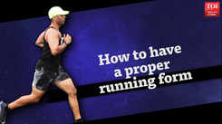 How to have a proper running form