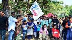 SARSAS holds street painting competition in Thiruvananthapuram