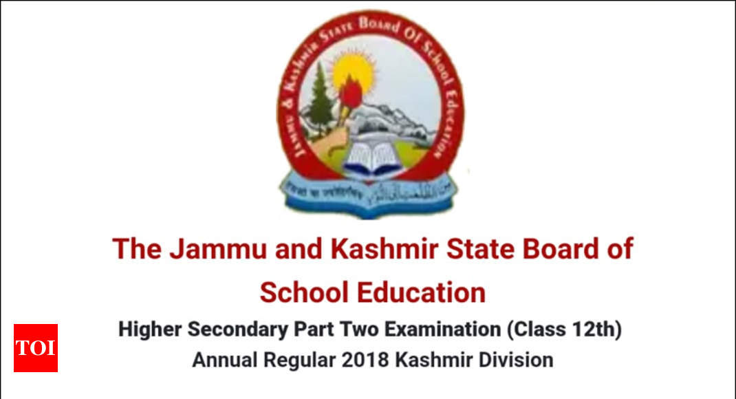 JKBOSE 12th Result 2018 For Kashmir Division Released At Jkboseacin Check Direct Link Here