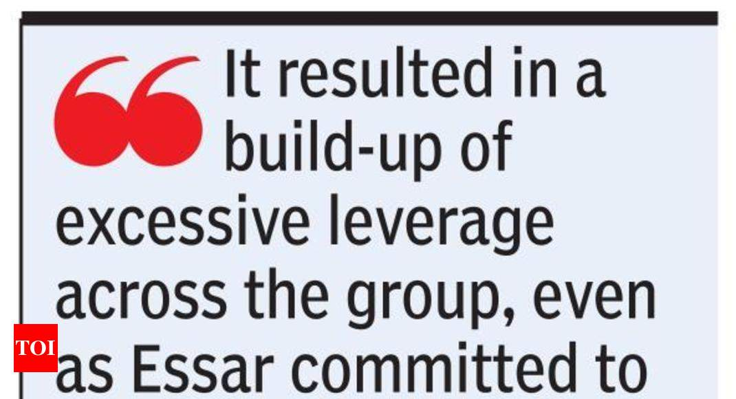 Essar group has cleared 80% of debt, says Ruia - Times of India