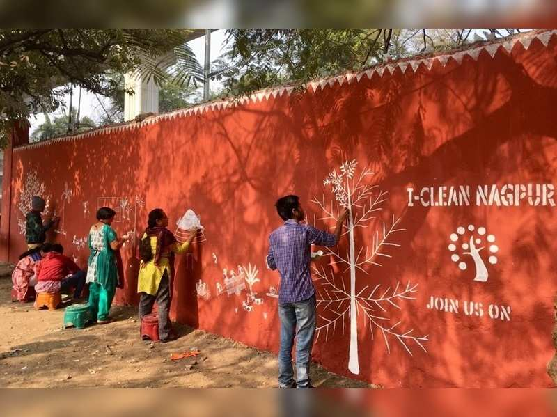 Beautification of Madangopal Agrawal High SchooL by I-Clean Army