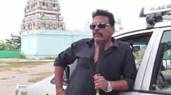Actor John Vijay speaks at SKB Vidhyashram Goup of School for Special Kids