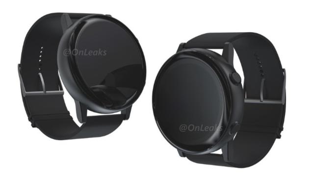 Samsung Galaxy Sport smartwatch without rotating bezel design revealed