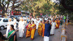 Mysore Maharaja at Coimbatore Parade