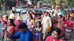 Gujarat Samaj members at Coimbatore Parade
