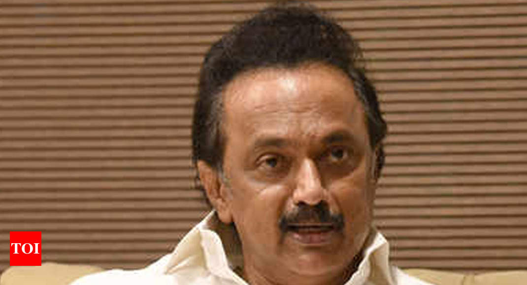 a32e29386527 DMK chief M K Stalin to solve  mystery of former Tamil Nadu CM J  Jayalalithaa s death  if voted to power