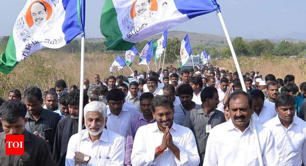 Padayatras integral to Andhra Pradesh's politics