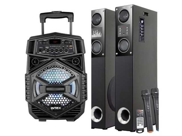 Intex launches T-200 and TW XH - 15000 FMB speakers, price starts at Rs 4,150
