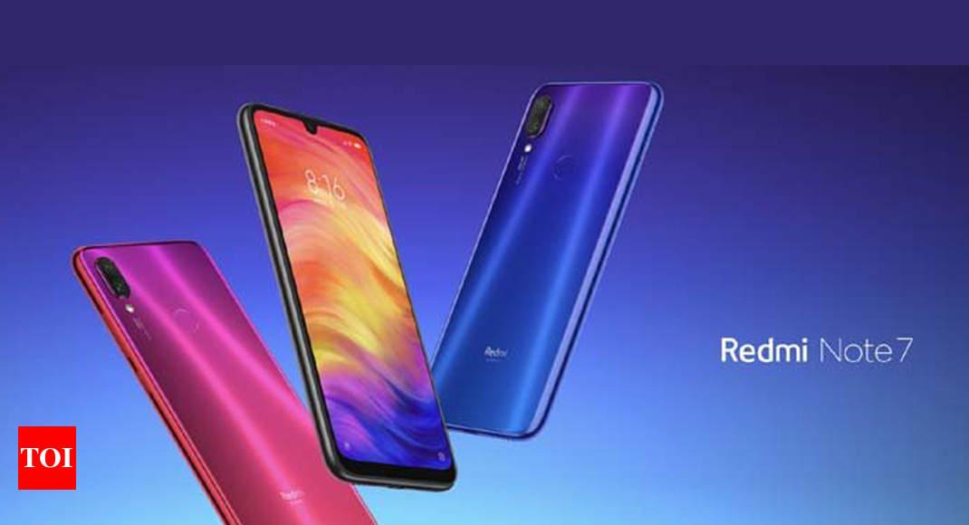 Redmi Note 7 Xiaomi Launches Redmi Note 7 With 6 3 Inch Fullhd