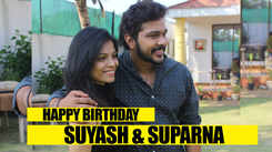 Suyash Tilak and Suparna Shyam have a blast on their birthdays