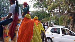 Rajasthani Sangh at Coimbatore parade