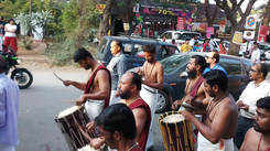 Malayalee Suhruth Vedi members at Coimbatore parade