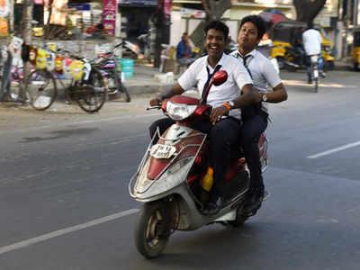 Image result for school-student ride bike odisha