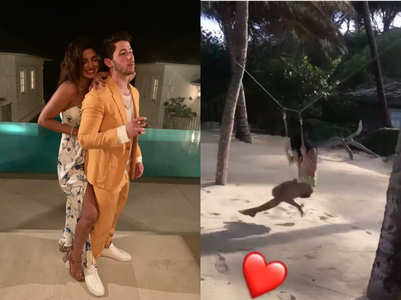 Pics: Priyanka-Nick on their honeymoon