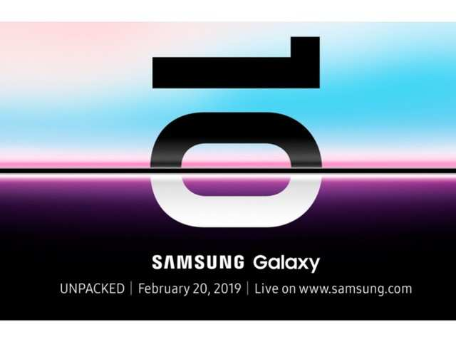 Samsung Galaxy S10 Unpacked 2019 event set for February 20