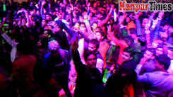 A grand New Year's Eve celebrations in Kanpur