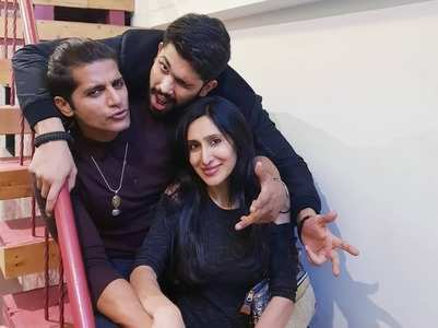 Karanvir and Shivashish had a gala time