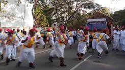 Rajasthani Sangh members performed at Coimbatore Parade