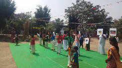 Specially abled children dance performance at Pongal celebrations