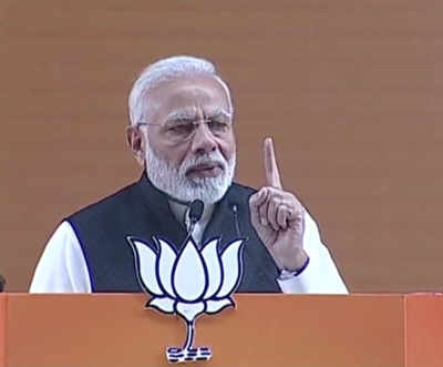 PM Modi addresses BJP national council meeting: Top quotes