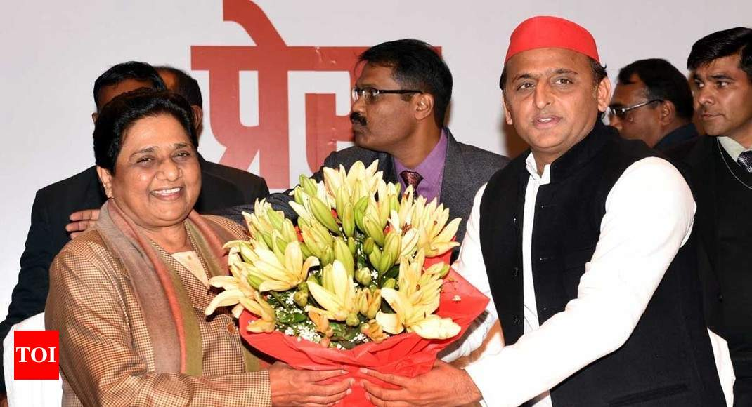 SP-BSP alliance: How sworn enemies became friends again - Times of India