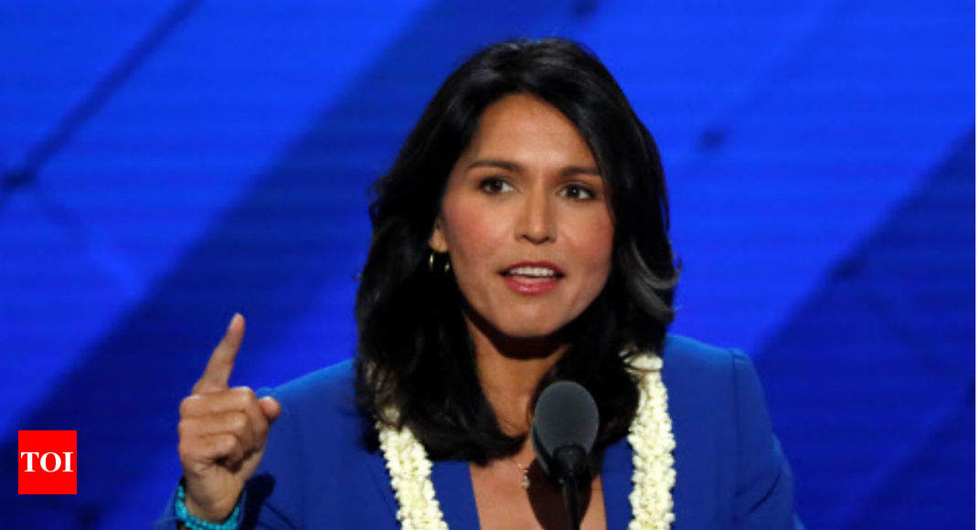 Tulsi Gabbard announces White House run; first Hindu to aim for presidency - Times of India
