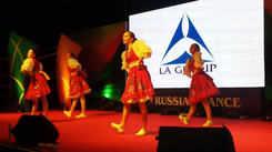 Russian stylized folk dance