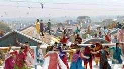 Depiction of kite festival in Bollywood