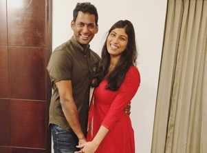 Vishal to marry actress Anisha Alla