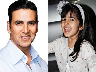 Akshay and daughter celebrate Makar