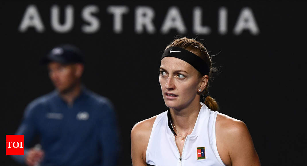 Petra Kvitova Coasts Into Australian Open Second Round Tennis News